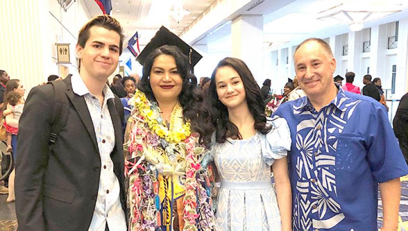 Samoan Valedictorian Graduates With Bachelor S Degree In Religion American Samoa Samoa News