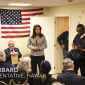 Tulsi Gabbard in a screenshot from video by Star-Advertiser