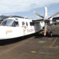 A Talofa Airways plane on the tarmac at Pago Pago Int'l Airport