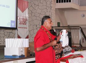 American Samoa 2020 Census Office translator Sitagata Peniamina Nafa'atali,