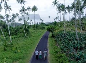 Rural scene from the film Loimata: The Sweetest Tears