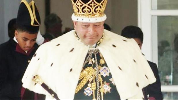Tonga's King Tupou VI [Photo: RNZI/Indira Moala]