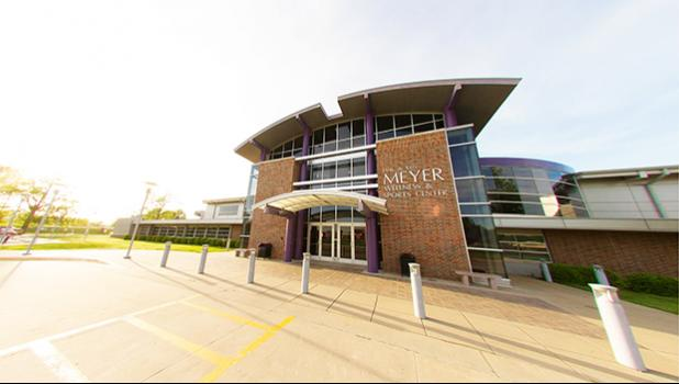 Southwest Baptist University's Meyer Wellness and Sports Center. [SBU website]
