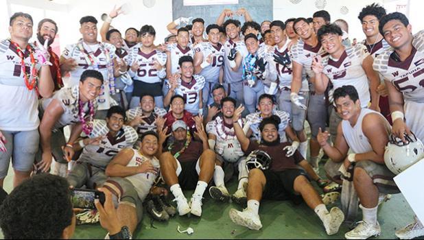 2018 - 2019 ASHSAA Football Varsity 'Undefeated' Champions – Tafuna Warriors