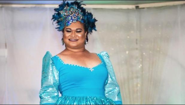 Newly crowned Miss Samoa Fa'afafine 2018 Barbara Tino Tiufea Va'a