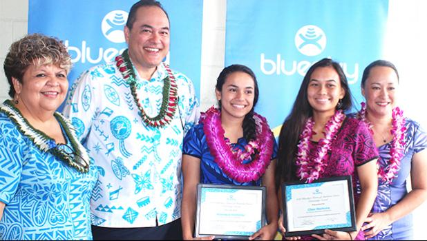 Bluesky's Future of American Samoa Scholarship Awards winners