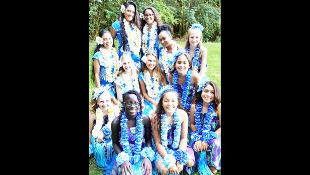 Members of the Paradise of Samoa community dance group. (Photo: CRAIG KEENER / Special to the Statesman Journal)