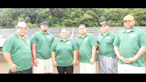 From Left to Right: William Sili, Daystar Parker, Fa'amamata Meredith, Sofai Falelua, Lui Maea, and Jordan Fanene. [courtesy photo]
