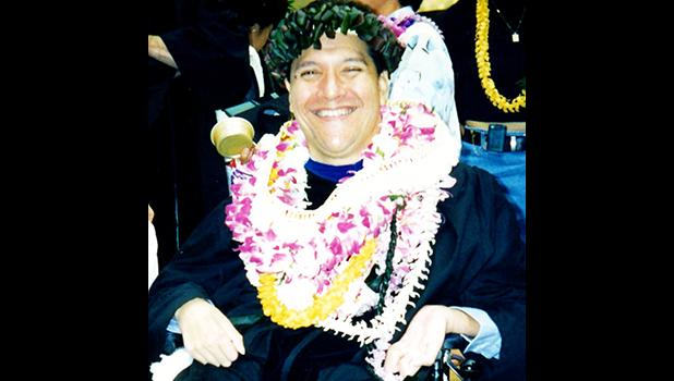 """The life of the late Terry """"Kanalu"""" Young, a UH Manoa Hawaiian Studies professor and indigenous rights activist, is profiled in the film """"Kū Kanaka/Stand Tall,"""" one of the two features included in this year's Deep Waters Film Festival, which takes place in the ASCC Lecture Hall this Thursday from 12 noon to 2 p.m. Admission is free and the public is welcome. (Courtesy Photo)"""
