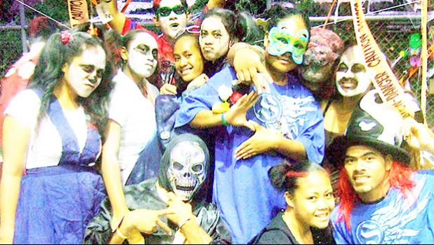 "ASCC will get deep into the ""trick or treat"" spirit during their Halloween Carnival this Saturday, October 28th, from 5 p.m. to 8 p.m. in the College's Gymnasium — it's hosting a ""Freak Show"". Costumes are encouraged and all ages are welcome.  The event is a fundraiser for the spring and fall community service projects the Student Government Association (SGA) takes part in.  [photo: J. Kneubuhl]"