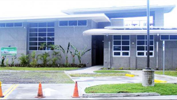 The new $4.6 million American Samoa Power Authority Operations Center building at its Tafuna compound.  [SN file photo]