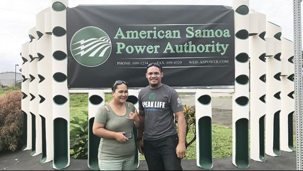 American Samoa Power Authority (ASPA) representatives — Radio Technician/Operator Brenda Tevaga-Feero and Radio/SCADA Technician Pene Vaisagote - recently completed a 3-day Communications Unit Leader (COML) Course.  [photo: ASPA]