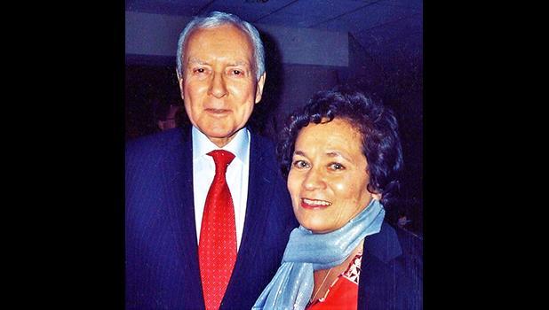 Amata with Sen. Orrin Hatch, President pro tempore of the Senate.  [Courtesy photo]