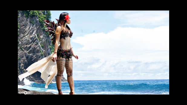 "Exposed Photography Samoa, a part of Ammon Fepuleai's work that went viral on social media and was shared by many — calling the photo ""Samoan fairy"".  [courtesy photo]"