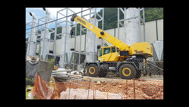 A look at the new multi-million-dollar ASPA power plant which is expected to be up and running by early next year.  [photo: Blue Chen-Fruean]