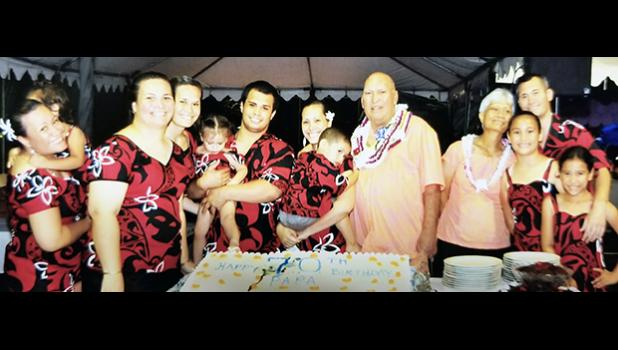 Former faipule and local businessman Galumalemana William Satele, 74, passed away peacefully on Oct. 13th in Honolulu, Hawai'i. His final funeral services are set for tomorrow in Vailoatai.  [photo: courtesy]