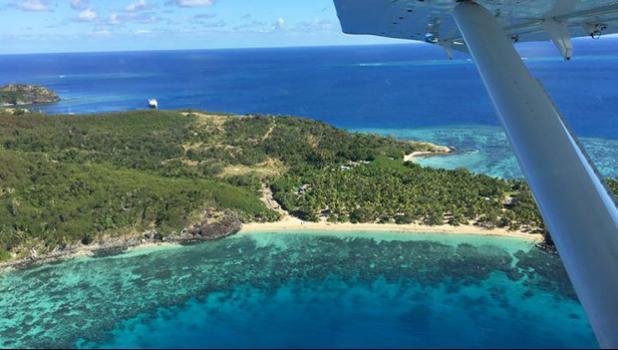 A coral reef off an island in Fiji's Yasawa Group [Photo: RNZI/Sally Round]