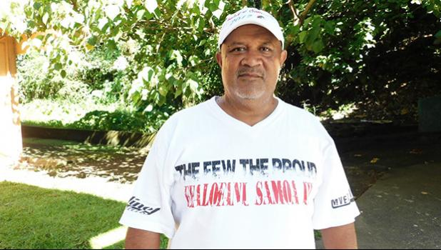 """Skipper of the Fealofani, Atuatasi Aga Seigafo, used to be one of its rowers — for 3 years — until the village council selected him to be its captain. He said in an interview with Samoa News, """"The village council put me on the spot to be the captain, so right then I knew I need to be a leader in representing my village.""""  [Courtesy photo]"""