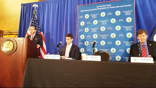 Secretary of Commerce highlights efforts to cut red tape. [courtesy photo]