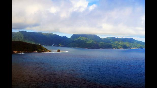 Entrance to Pago Pago habor. [SN file photo]
