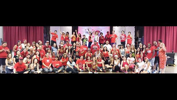 FHSAA Hawaii chapter zumbathon community supporters. [courtesy photo]