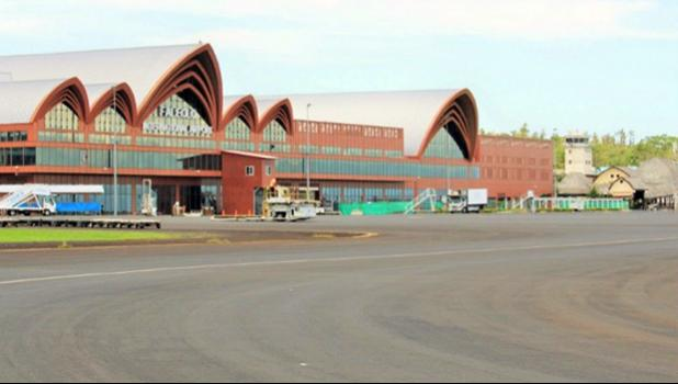 View of the apron, east side. [courtesy photo]