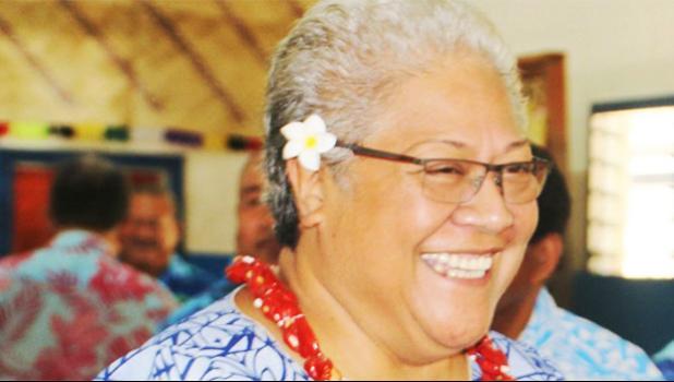 Fiame Naomi Mata'afa [Samoa Observer]