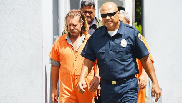 Dean Jay Fletcher Fletcher was arrested in Pago Pago in early Sept. 2016 for illegally entering the territory without authority. [SN file photo]