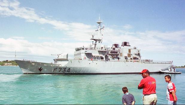 French Navy vessel — Le Vendémiaire  [photo: AFP via RNZI]