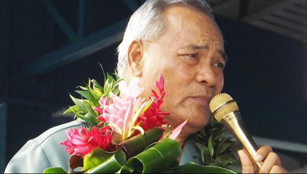 Gov. Lolo Matalasi Moliga [SN file photo]
