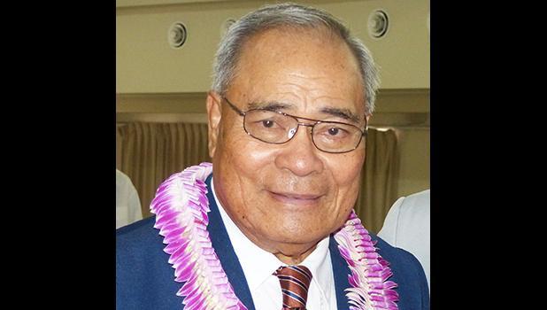 Governor Lolo Matalasi Moliga [SN file photo]