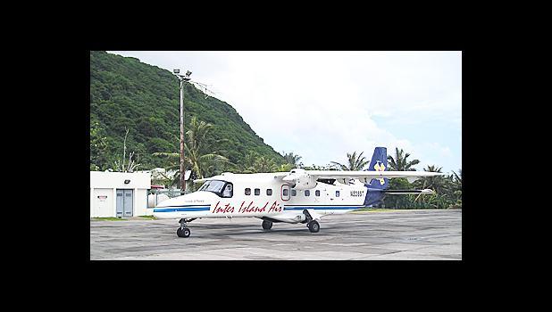 Inter Island Airways on the ground in Tau, Manu'a. [photo: Wikipedia]