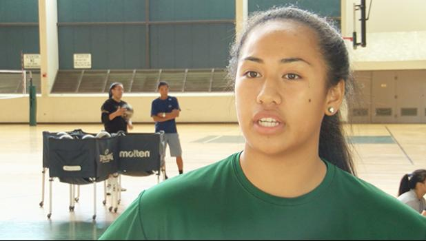 Norene Iosia named to Junior Women's National Team. [photo: Hawaii News Now]