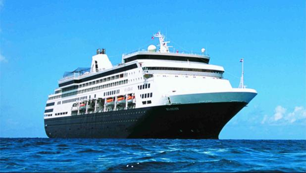 HAL's Maasdam will visit Pago Pago twice this year.  [courtesy photo]