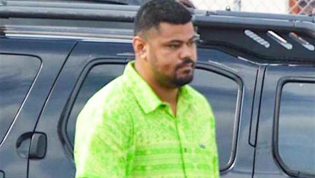 Marty Tanielu has been sentenced to 5 years probation for two separate drug cases. He stole from his mother to buy drugs.  [photo: AF]