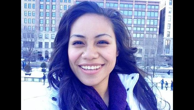 Meghan Tanuvasa is working on her master's degree through an online program with Abliene Christian University. During the day, she serves as a counselor at the Juvenile Detention Center in Tafuna. [photo: courtesy]