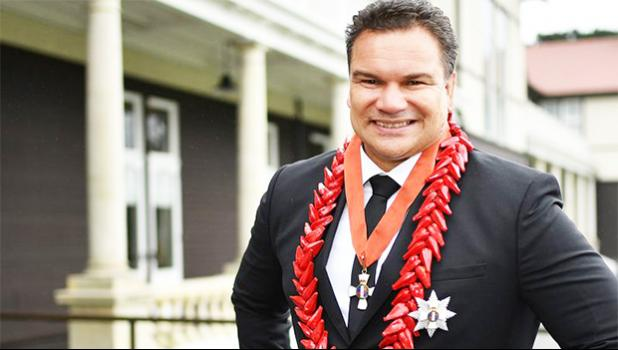 Sir Michael Jones at Government House.  [Photo: Photosport]