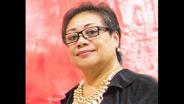 S.E.I. Chairperson Laeimau Oketevi Tanuvsa. [Samoa Observer]