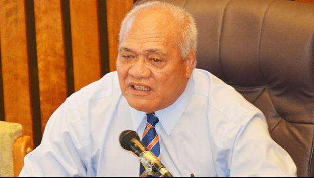 Former Chief of Customs, Moetulu'i Sipili Fuiava [SN file photo]