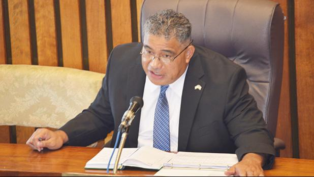 Health director Motusa Tuileama Nua [SN file photo]