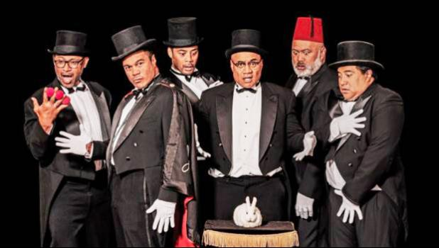 The Naked Samoans returned to the stage. [courtesy photo]