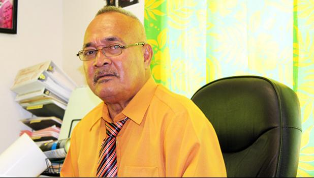 Newly appointed Deputy Commissioner, Falana'ipupu Ta'ase Sagapolutele of the Police Bureau, is one of two deputy commissioners now serving the Department of Public Safety, under the changes made by Police Commissioner Le'i Sonny Thompson.  [Photo: JL]