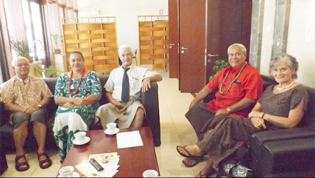 Members of the Commission of Inquiry into family domestic violence in Samoa.  [RNZ Pacific/ Tipi Autagavaia Tipi]