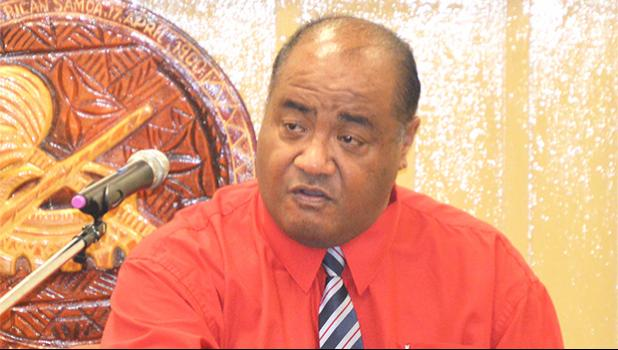 American Samoa Telecommunications Authority (ASTCA) CEO, Puleleiite Tufele Li'a Jr. appeared before the House Telecommunications Committee for a hearing last week.  [photo: AF]