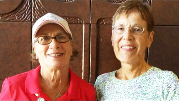 Big Island volunteers Karen Kane (left) and Susan Hicks (right). [Courtesy photo]