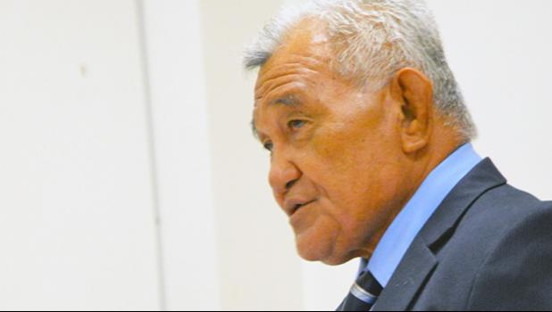 Manu'a faipule, Rep. Toeaina Faufano Autele says a House Investigation Committee (HIC) needs to be established to look into many issues — including alleged police brutality at the TCF — being reported from around the territory. See story for details.  [photo: AF]