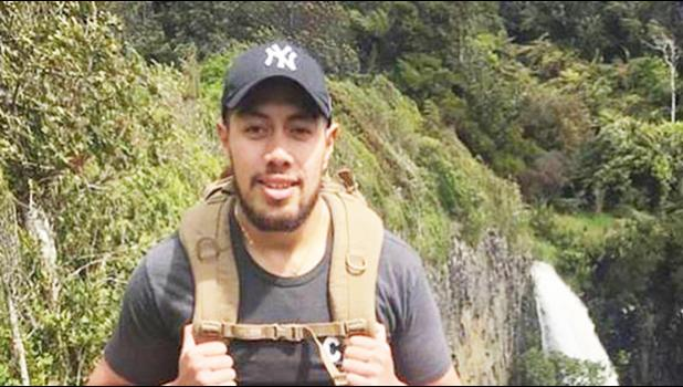 New Zealand sailor Joseph Tua went missing in Samoa on April 29 near the famous To Sua trench tourist site. [Picture supplied by family to NZ Herald]