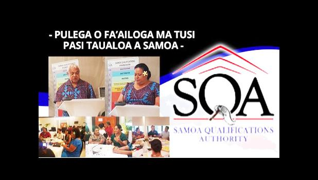 The Samoa Qualifications Authority (SQA) will launch the new Samoa Qualifications (SQs) in Tourism and Hospitality at the Millenia Hotel fale, on Friday, Sept. 29, 2017. The development of the new SQs addresses the shortage of skilled workers and existing gaps in the tourism industry.  [photo: courtesy]