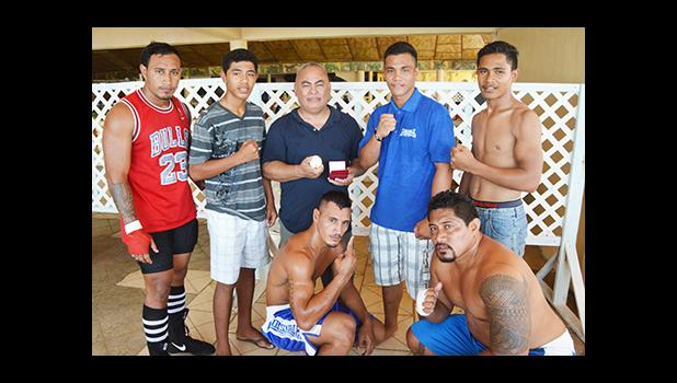 Samoa's boxing team won the 2016 Mosooi International Boxing Championships against the American Samoa boxing team — 4- nil. [photo by AF]
