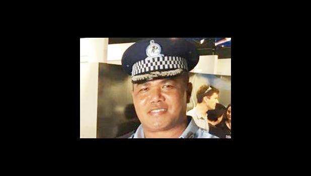 Police Superintendent and Media Spokesperson, Auapa'au Logoitino Filipo.  [Samoa Observer]
